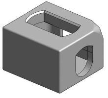 Kontejnerový rohový prvek horní PL, ZP, ISO 1161