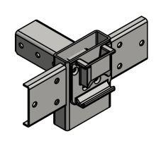 Spojka boční - CS12,CS/ 90,108 mm, 120/4/40, s kapsou, galvanický zinek