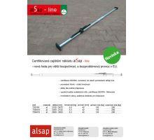 alSap line - rozpěrná tyč podlaha/strop