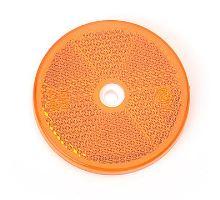 Odrazka o61 oranžová, FI61 - boční, pro přišroubování