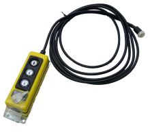Dálkové ovládání sklápěče dolu/nahoru, kabel 4m, SPX s klíčem