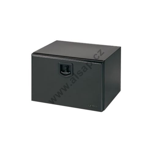 Bedna zn/černý komaxit na nářadí 500x350x400mm, plech 1,5mm