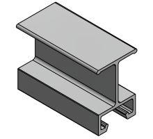 Profil příčný 70 mm, EX, elox