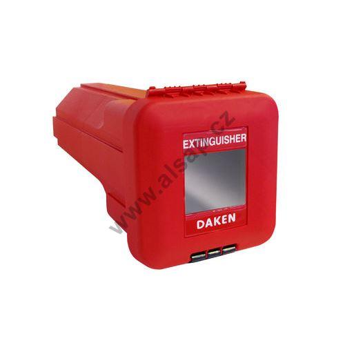 Bedna na hasící přístroj 6kg HP - červená SLIDEN