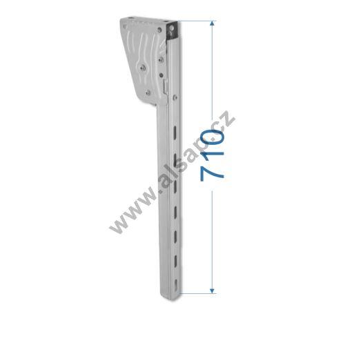 Držák boční zábrany i 710 mm, gzink,  s homologací E11, TAKLER