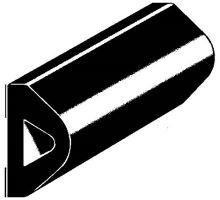 Nárazník gumový samolepící 40x20mm (role 20m)
