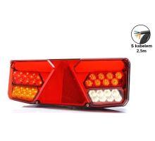 Zadní sdružené světlo LED, L, 350 x 131 x 81 mm, PŘÍVĚS