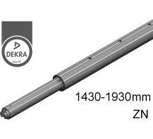 Tyč rozpěrná zn, o42mm, alSap-Line, 1430 - 1930 mm (o19/o24/U9mm) 500 daN DEKRA