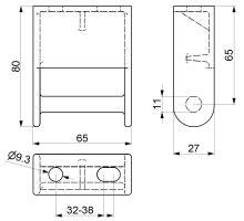 Pant krabice P 02, ocel