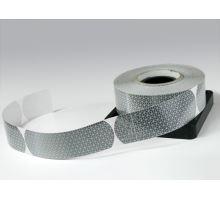 Reflexní páska samolepící bílá - cisterna, 50m