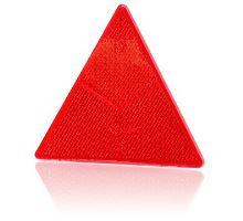 Odrazka trojúhelník červený - zadní, se šrouby