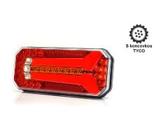 Zadní sdružené světlo LED, L/P, 236 x 104 x 40 mm, dynamické směrové světlo