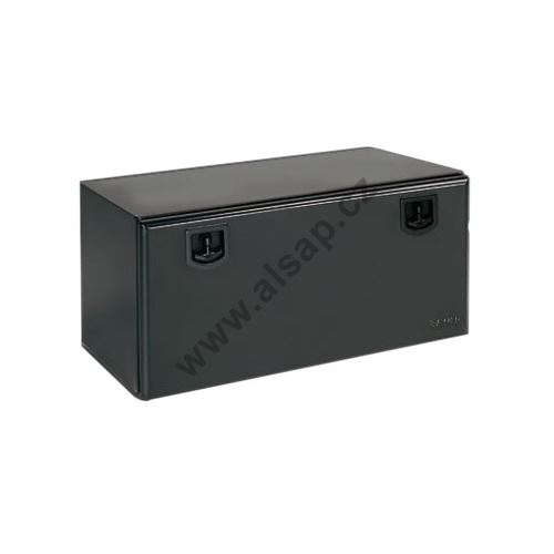 Bedna zn/černý komaxit na nářadí 1000x500x500mm, plech 1,5mm