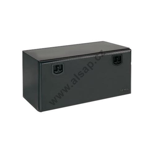 Bedna zn/černý komaxit na nářadí 800x500x500mm, plech 1,5mm