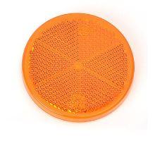 Odrazka o61 oranžová, FI61 - boční, lepící