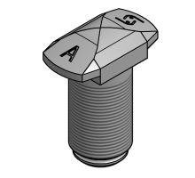 Šroub zámku nosníku výměnné nástavby  o 52 mm