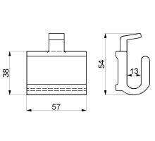 Pant krabice - hák P 02, ocel