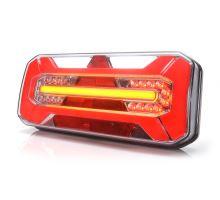 Zadní sdružené světlo PŘÍVĚS W184 LED, P, 306 x 133 x 60mm, 5funkce + bočni osvětlení SPZ