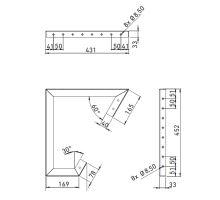 Držák pro bednu na hasící přístroj HP - SLIDEN