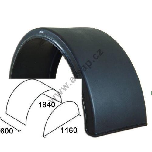 Blatníky od 270 do 650 mm, DOMAR DK15