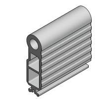 Profil můstku, pant + střed 75 x 30mm al, ALSAP, 5001 mm