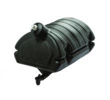 Kanystr na vodu 30L, černý vč nádobky na mýdlo