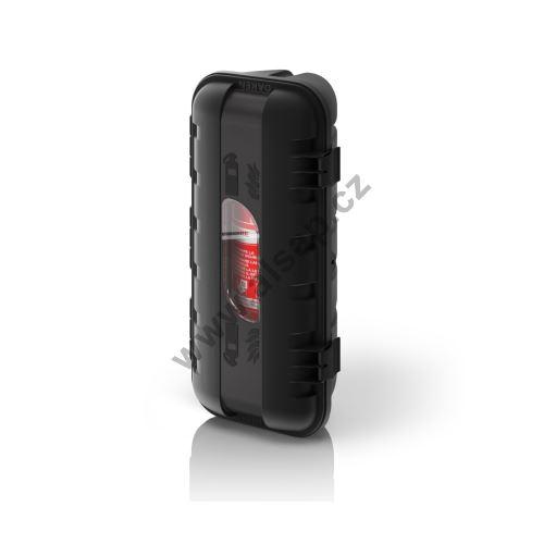 Bedna STRIKE na hasící přístroj HP 6kg - černá, 600 x 287 x 220 mm
