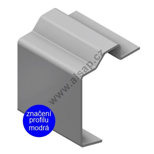 Profil obvodový ST 112x21 mm, pro oko,  ocel 3mm, 7500mm