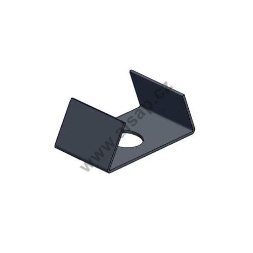 Podložka uložení trubky o 35 mm - ocel