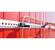 Upínací třmen pro vozík, vhodný pro lištu 730170, rozsah 45, 35, 25 mm , ocel