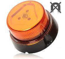 Maják oranžový kryt, 8 modů, W112, kabel 3m