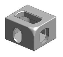 Kontejnerový rohový prvek horní PP, ZL, ISO 1161