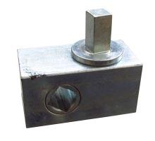 Napínací mechanismus - krabička 73x40mm - pravá, 4 hr 12x12mm