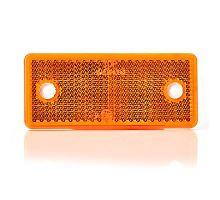 Odrazka 96x42 oranžová, UP96x42 - boční, lepící