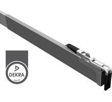 Mezibočnicová zábrana 2400-2700 mm, F max 400daN, certifikace DEKRA, alSap Line