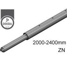 Tyč rozpěrná ZiN, o42mm, alSap-Line,  2000 - 2400 mm (o19/o24/U9mm) 500 daN DEKRA