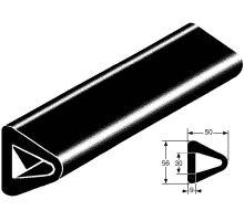 Nárazník gumový delta 56 x 50 x 2500mm