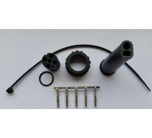 Konektor WAS 5-pin pro kabel 5x0,75 +plochý kabel - komplet