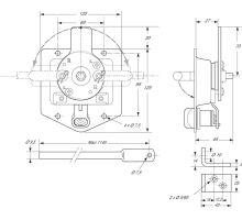 Zámek 3 bodový 120/125mm - nerez