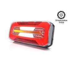Zadní sdružené světlo LED W185, L/P, 306x133x60mm, dynamické směrové světlo
